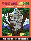 Kindergarten Color By Number  Color By Number   Animals