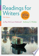 Readings for Writers  2016 MLA Update Book