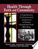 Health Through Faith And Community Book PDF