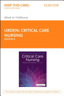 Critical Care Nursing   E Book