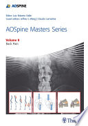AOSpine Masters Series  Volume 8  Back Pain