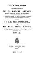 Diccionario Geografico-Historico de la Espana Antigua