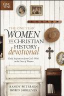 The One Year Women in Christian History Devotional Pdf/ePub eBook