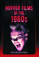 Horror Films of the 1980s Pdf/ePub eBook