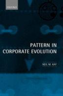 Pattern in Corporate Evolution