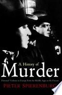 A History of Murder Pdf/ePub eBook