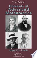 Elements of Advanced Mathematics, Third Edition