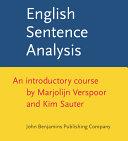 English Sentence Analysis ebook