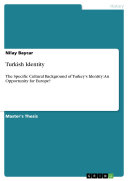 Turkish Identity Pdf/ePub eBook
