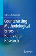 Counteracting Methodological Errors in Behavioral Research Book Cover