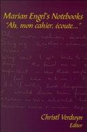 Marian Engel's Notebooks Pdf/ePub eBook