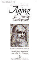 The International Journal of Aging   Human Development Book PDF