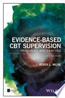 Evidence Based Cbt Supervision