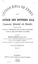 Pdf Cyclopaedia of India and of Eastern and Southern Asia, Commercial, Industrial and Scientific