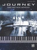 Journey Piano Sheet Music Anthology Book