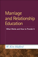 Marriage and Relationship Education Pdf/ePub eBook