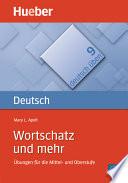 Wortschatz und mehr  : Übungen für die Mittel- und Oberstufe / PDF-Download
