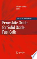 Perovskite Oxide For Solid Oxide Fuel Cells Book PDF