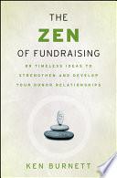 The Zen Of Fundraising Book PDF