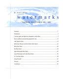Minnesota Watermarks Book