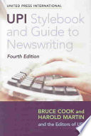Upi Style Book Guide To Newswriting Book PDF