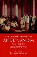 The Oxford History of Anglicanism, Volume III