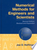 Numerical Methods for Engineers and Scientists  Second Edition  Book