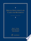 Special Education Law  Cases and Materials Book