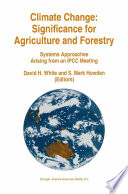 Climate Change  Significance For Agriculture And Forestry
