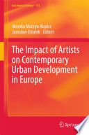 The Impact Of Artists On Contemporary Urban Development In Europe Book