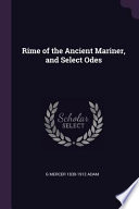 Rime of the Ancient Mariner, and Select Odes