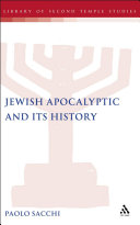Jewish Apocalyptic and its History [Pdf/ePub] eBook
