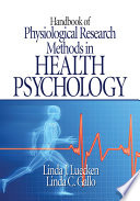 Handbook of Physiological Research Methods in Health Psychology