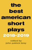 The Best American Short Plays 2018   2019