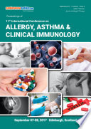 Proceedings of 11th International Conference on Allergy  Asthma   Clinical Immunology 2017