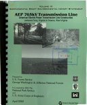 George Washington   Jefferson National Forest  N F    AEP 765kV Transmission Line  American Electric Power Transmission Line Construction  Jacksons Ferry  Virginia to Oceana  West Virginia