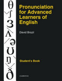 Pronunciation for Advanced Learners of English Student s Book