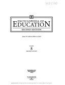Encyclopedia of Education  Appendixes  Index Book
