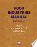Food Industries Manual Book