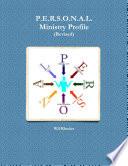 P E R S O N A L Ministry Profile Revised  Book PDF