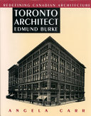 Toronto Architect Edmund Burke ebook