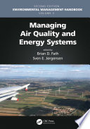 Managing Air Quality and Energy Systems Book