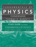Student Study Guide for Fundamentals of Physics