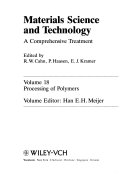 Materials Science and Technology  Processing of Semiconductors