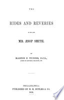 Rides And Reveries Of The Late Mr Sop Smith