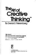 The Art of Creative Thinking Book