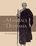 The Manuals of Dhamma Book