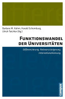 Funktionswandel der Universitäten