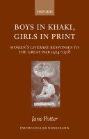 Boys in Khaki  Girls in Print