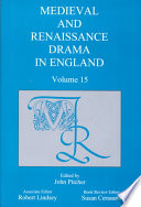 Medieval And Renaissance Drama In England